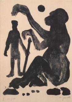 Encounter, A.R. Penck.
