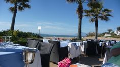 The Beach House, another super supper location...or Sunday lunch...they certainly know how to do that in Marbella!