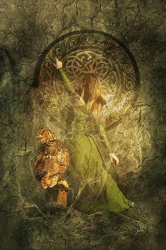 La fée des runes, folklore celtique