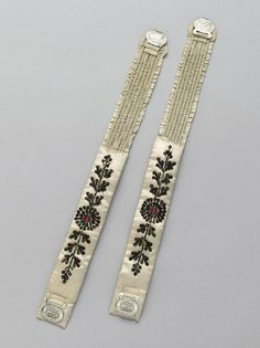 Found from Ornamented Being..again..Thank you Lyze! You have found what I have been looking for forever! Spring Garters!!! Now to make some!