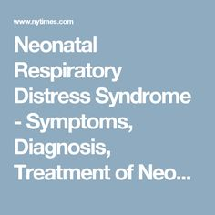 68 Best Respiratory Distress Syndrome images | Acute