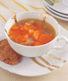Carrot and Onion Soup recipe