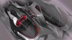 Interior Design Renderings, Interior Rendering, Interior Concept, Car Interior Sketch, Car Interior Design, Automotive Design, Hover Car, Industrial Design Sketch, Mechanical Design