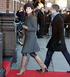 HRH Crown Prince Frederik & HRH Crown Princess Mary of Denmark, 2012