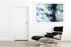 Contemporary wall Art - Extra Large Wall Art Original Art Bright Abstract Original Painting On Canvas Extra Large Artwork Contemporary Art Modern Home Decor