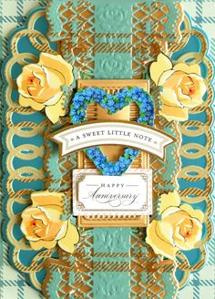 HSN November 2, 2020 - Product Preview 1 - Anna Griffin Card Making Kits, Anna Griffin Cards, Metallic Paper, Beautiful Textures, Anniversary Cards, Your Cards, Wedding Cards, Cardmaking, Card Stock