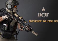 BCM Gunfighter KeyMod Rail Panel Kit