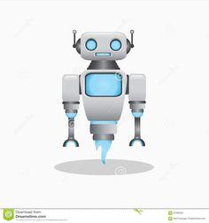 Afbeeldingsresultaat voor robot illustration