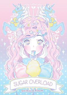 #pastel #girl #draw #illustration #colored #kawaii