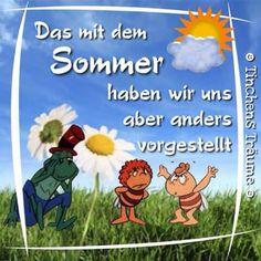 Sommeranfang wetter pinterest sommer spr che und zitate - Wetterbilder lustig ...