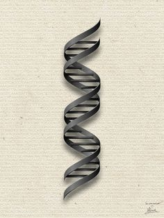 DNA double helix by Science Fried Art Society 6