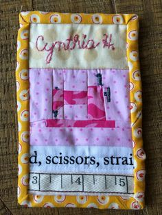 Quilt Guild Swap Ideas : Name Tag Swap at the Detroit Area Modern Quilt Guild My Name is Pinterest Modern, Name ...