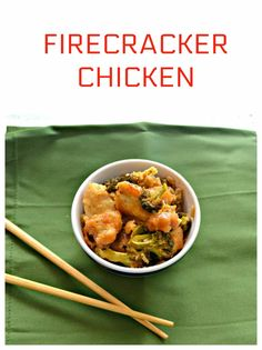 Dig into this sweet and spicy Firecracker Chicken and Broccoli Healthy Meals To Cook, Easy Weeknight Meals, Healthy Cooking, Chicken Flavors, Easy Chicken Recipes, Easy Recipes, Amazing Recipes, Turkey Recipes, Spicy Recipes