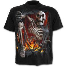DEATH RE-RIPPED - T-Shirt Black