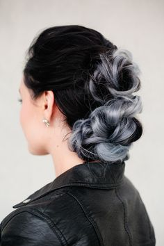 Tina Mellone  tinabadina  auf Pinterest BRAIDED BUN HAWK by Confessions of a Hairstylist