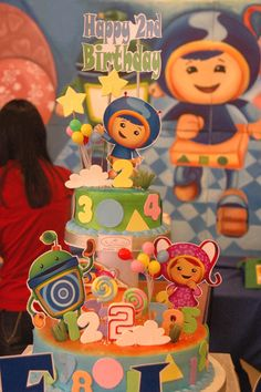 """Photo 4 of 41: Team Umizoomi / Birthday """"Gelo's Umizoomi 2nd Birthday Party""""   Catch My Party"""