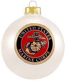 United States Marine Corps Ornament - for a USMC Christmas tree ...