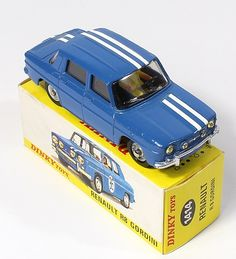 Dinky Toys 1424 Renault R8 Ralleye car Pic. www.qualitydiecasttoys.com