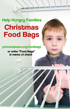 "Help Hungry Families Christmas Food Bags  write ""Food Bags"" in memo of check #poplctx #foodbags #helphungryfamilies #christmas #christmas2016"