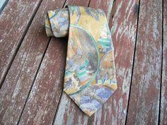 Vintage Necktie, Neckties Tie Accessories Mens Necktie, FREE SHIPPING, Mens tie, Pattern  necktie, Ties, Vintage Mens neckties, Retro tie by YourHomeMarket on Etsy