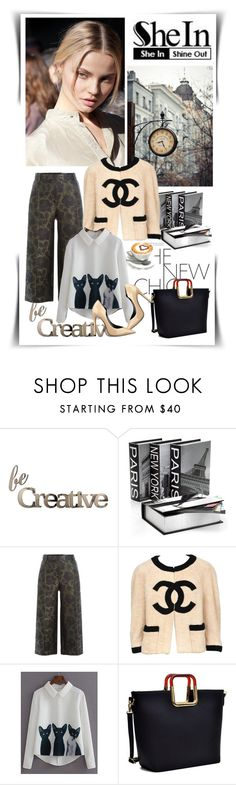 """""""Bez naslova #582"""" by gracijelaj ❤ liked on Polyvore featuring Letter2Word, Alexander McQueen, Chanel and Dasein"""