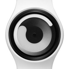 Gravity: Without typical hands or markings, the Gravity watch uses two rings that resemble rotating comets to indicate the time