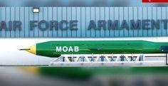 ทำความรู้จัก 'MOAB' ถูกขนานนาม แม่ของระเบิด (คลิป)