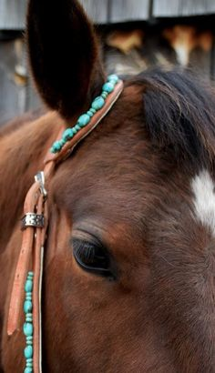 custom original headstalls, breast collars with turquoise, conchos and stones, custom orders