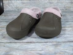 1dcd672bbbdc Crocs Lined Mules Womens Size 11 M Solid Brown Shoes  Crocs  Mules  Casual