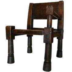 19th c. African Ambo Chair | 1stdibs.com