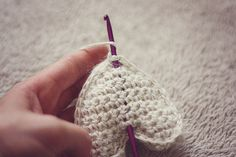 Tutorial crochet heart