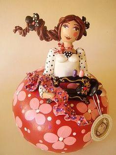 Madu Lopes Gourd Doll