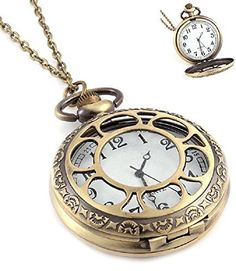 Fashion Jewelry Women's Novelty Pocket Watch Necklace (Classic 3)  #Classic #Fashion #Jewelry #Necklace #Novelty #Pocket #RusticGrandfatherClock #Watch #Women's The Rustic Clock
