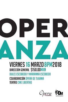 Este viernes 16 de marzo disfruta de la Operanza un espectáculo escénico donde la danza y la ópera se fusionan para el deleite de espectador. Presentan: Conservatorio de Danza México en colaboración con la OPERA DE TIJUANA.