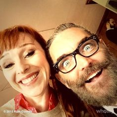 Ruth Connell ♕Verified account @RuthieConnell Time for Tim's #asylum14 selfie @Omundson a true original and gentleman too :-) Rx