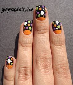 Halloween Nails. #halloweennails #halloweennailart #nails #nailart