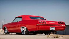 65 Chevy Impala Rag Top!  Great Top Color!