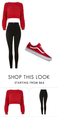 """casual"" by ikatsamaki on Polyvore featuring River Island and Topshop"