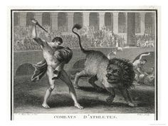 If you went to watch the fights in the morning then you would see they would throw gladiators in with animals for an entertaining breakfast and they had to kill the animal or they wouldn't come out at all.