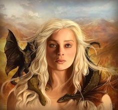 Daenerys Targaryen - Game of Thrones - Meg Owenson