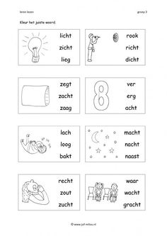 Afrikaans Language, Learn Dutch, Dutch Language, Letters For Kids, Preschool Learning Activities, Spelling, Worksheets, Classroom, Teaching