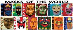 masks from around the world.jpg (398×167)