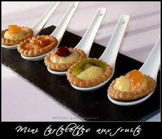 Mini tartelettes aux fruits