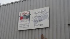 Uithangbord LARO Bouw