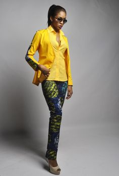 African Inspiration - Orange Culture (Adebayo Oke-Lawal - creative director) The pants, the pants, the PANTS!