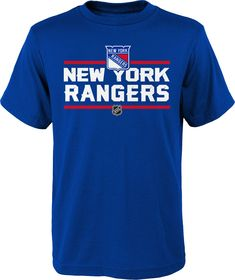 9aa0851f5 NHL Youth New York Rangers Epitome Royal T-Shirt