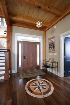 Entry Design for Northport, Michigan Retreat by Francesca Owings, Lake Home Interior Designer