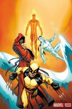 Ultimate X-Men Comics #1 variant by Mark Bagley *