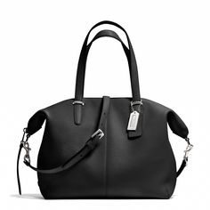 The Bleecker Cooper Satchel in Pebbled Leather
