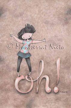 Montserrat Nieto. Ilustración.